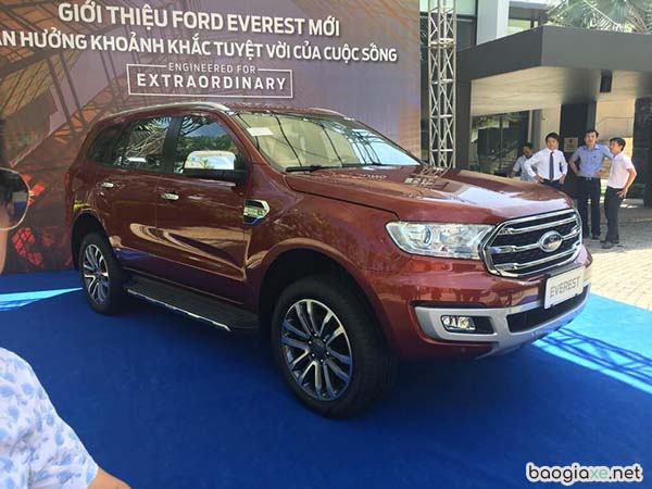 Ford Everest 2018 Titanium